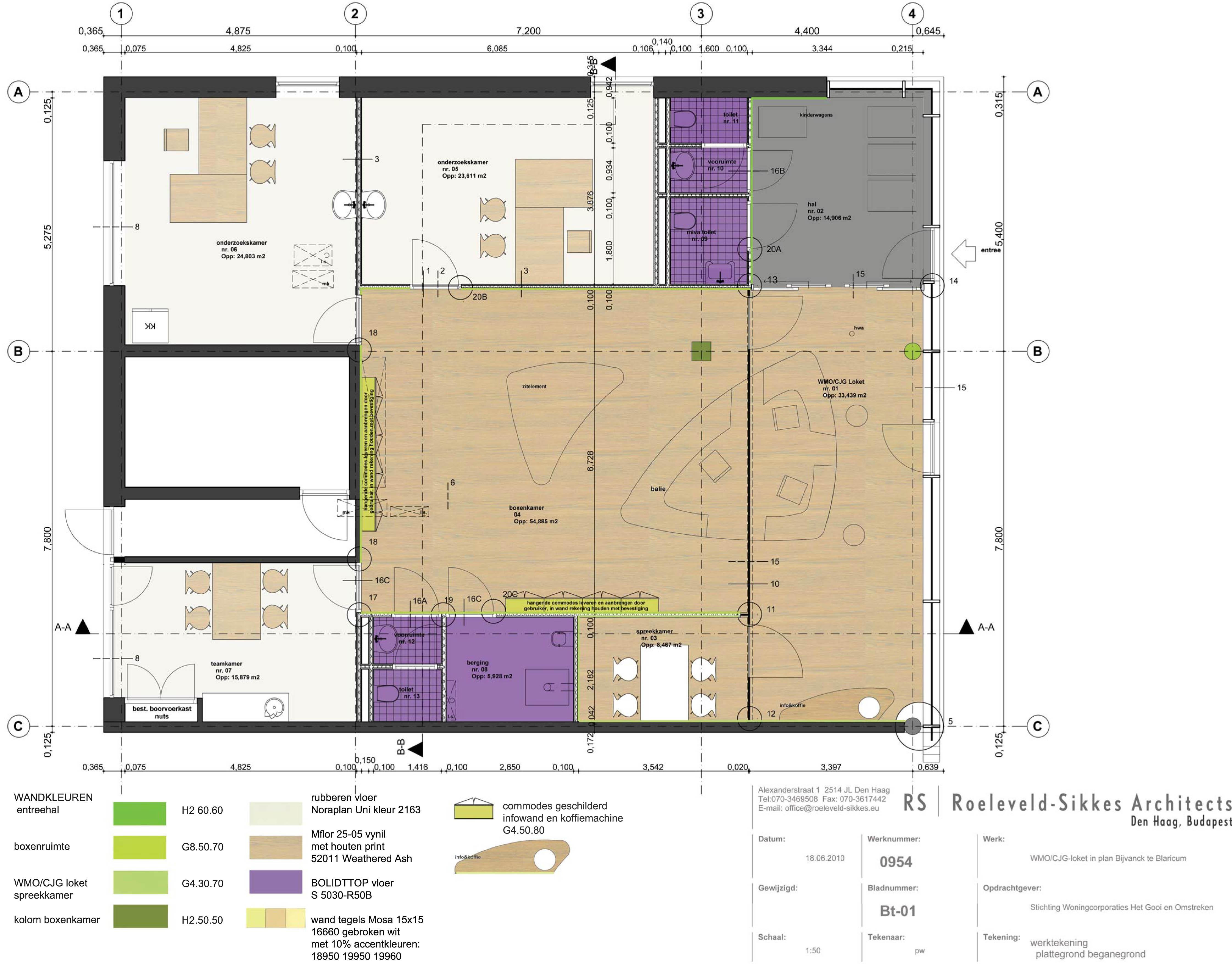 WMO/CJG-loket in plan Bijvanck te Blaricum